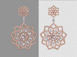 Earring Jewelry Background Removal 1