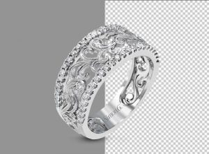 Ring Jewelry Background Removal 1