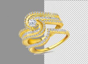 Ring Jewelry Background Removal 3