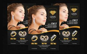 Jewelry Flyer Design 3