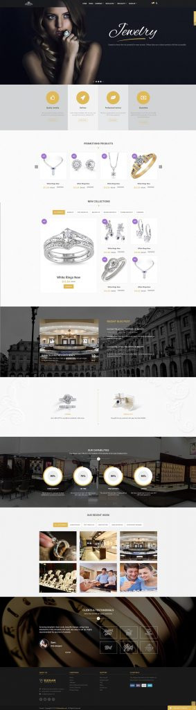 Jewelry Web Design 2