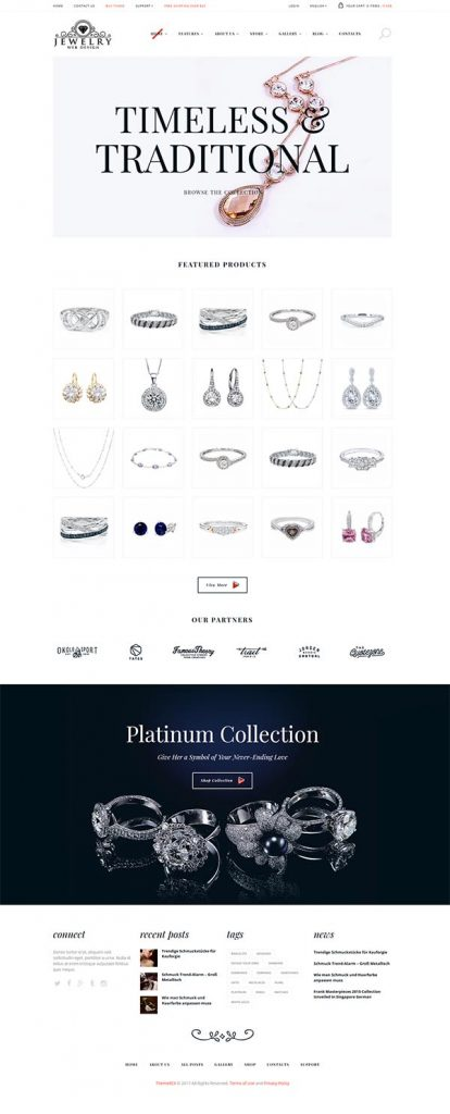 Jewelry Web Design 6