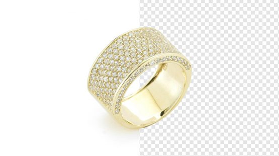 Jewelry Ring background removal