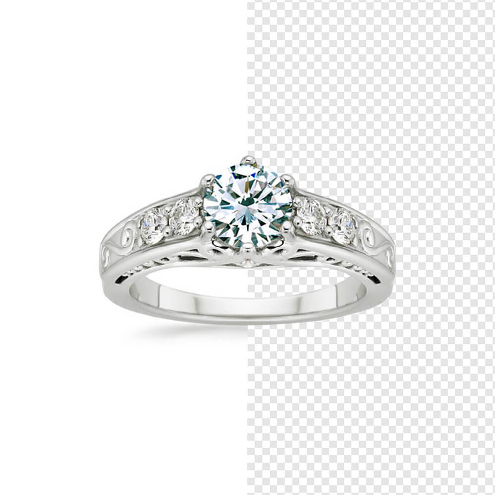 Jewelry Ring Background Removal Image retouch